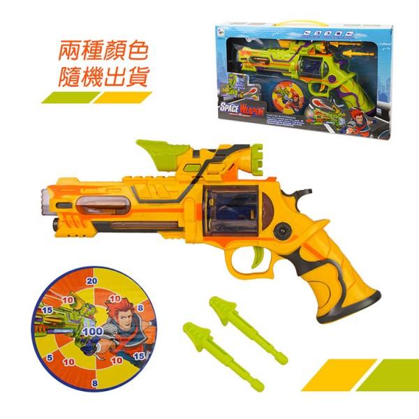 6282炫麗聲光音樂玩具左輪手槍(有振動效果)
