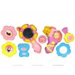 彩虹Rainbow 7件式幼兒裝扮梳裝組(安全環保ABS塑料)