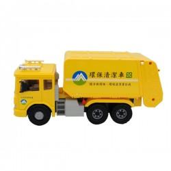 韓國進口環保垃圾車(黃色中文版)(大台)(ST玩具百貨公司貨品質保證)