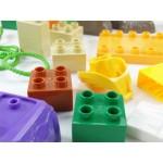 JDLT幼兒版恐龍場景建構大積木(CE環保塑料)(5079)(38PCS)(透明袋裝)