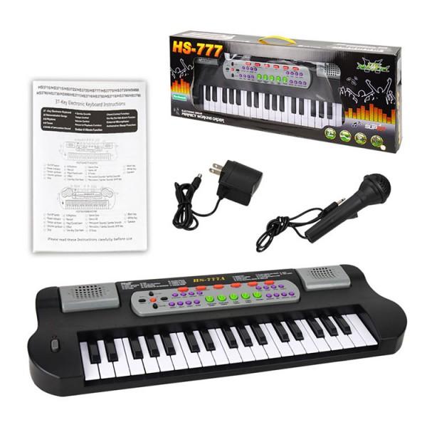 37鍵兒童多功能電子琴(附麥克風)
