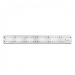30公分事務切割尺(鋁條包邊耐切割)(台灣筆樂)