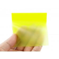 半透明彩色自粘便利貼(單色正方形)(30張)(PET材質)
