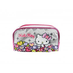 Hello Kitty 閃亮亮超大容量筆袋/化妝包(授權)