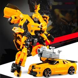 91601 變形機器人(可變車)(黃色/藍色)