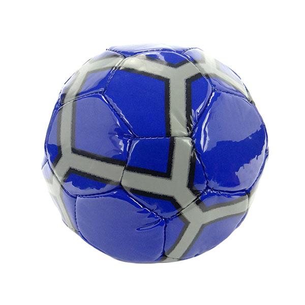 兒童PVC皮革小足球(機縫線)(直徑15公分)(多色隨機)