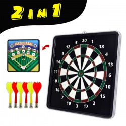 雙面玩法磁性飛標靶組(多人競賽) / 飛鏢靶 (無法超商取貨)