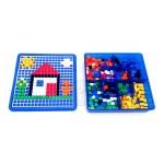 馬賽克魔法拼圖盤(585PCS)(附收納盒+36關圖卡)(661)
