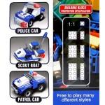 1000PCS豪華版積木組(藍色警察系列)(可與樂高相容)
