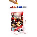 1000PCS豪華版積木組(紅色消防系列)(可與樂高相容)