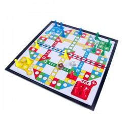 磁性飛行棋(Ludo棋)(益智)(2-4人遊戲)