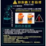 小丑魚造型連續式電動泡泡槍(有LED燈+音樂)