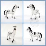 5入野生動物模型(中型)(硬偏軟材質)(安全塑料)(YS8006)