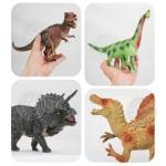 5入恐龍模型(中型)(硬偏軟材質)(安全塑料)(KL8006)