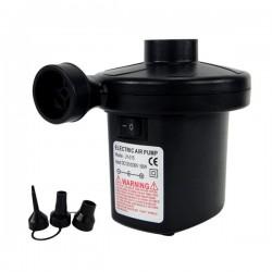 多功能迷你打氣機(附點煙器頭+110V頭)(露營/氣球/游泳池必備)