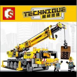 【森寶積木】大型吊車組合積木組(665PCS)(701800) (無法超商取貨)