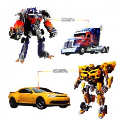 2入精緻盒裝變形機器人(可變車子)(4090) (無法超商取貨)