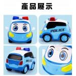 警車聯盟(警車小治)聲光觸控回力合金車(3001授權)