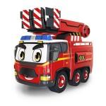 警車聯盟(消防車大雷)聲光觸控回力合金車(3003授權)