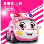 警車聯盟(小治+小芸)2入回力合金車(10021授權)