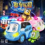 警車聯盟(小治+嘟嘟)2入回力合金車(10023授權)