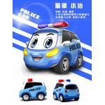 警車聯盟(小治+阿特)2入回力合金車(10024授權)