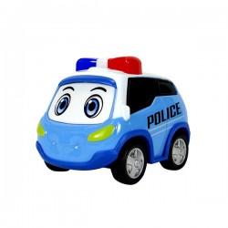 警車聯盟(警車小治)回力合金車(10011授權)