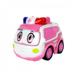 警車聯盟(救護車小芸)回力合金車(10012授權)