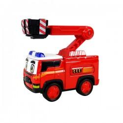 警車聯盟(消防車大雷)回力合金車(10013授權)