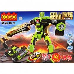 【COGO積木】衝鋒毒蠍2變形機器人(199PCS)(14852)