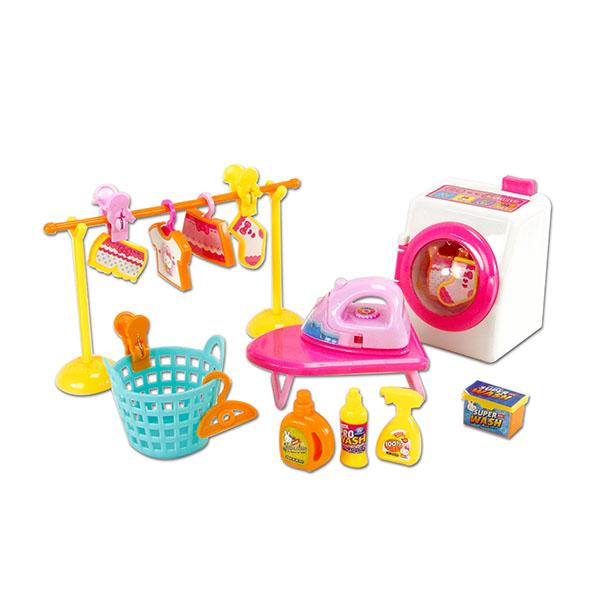 粉紅兔我要洗衣服洗衣機組(授權)