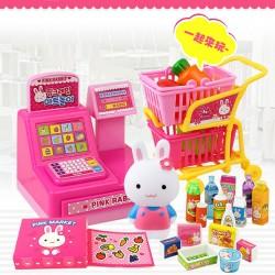 粉紅兔我要逛超市購物車組(授權)