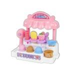 粉紅兔聲光冰淇淋屋家家酒(授權)