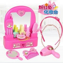 粉紅兔我的化妝台梳妝組家家酒(授權)