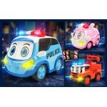 警車聯盟(小治)變形機器人合金車(2001授權)