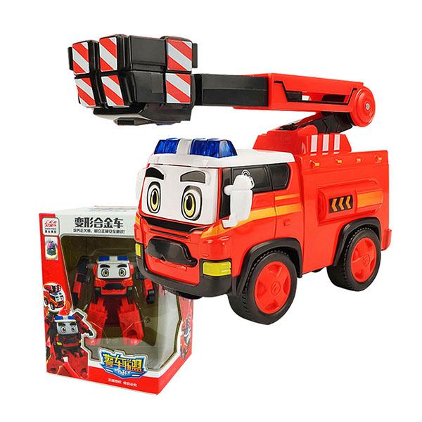 警車聯盟(大雷)變形機器人合金車(2001授權)
