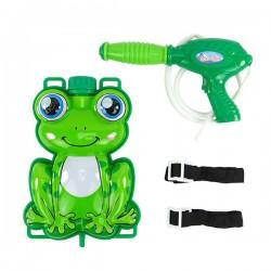 小青蛙背包水槍(輕巧型適合幼稚園)(加壓出水射程遠)