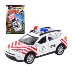 1:32 合金SUV休旅台灣國道警車模型(聲光迴力車門可開)(ST)
