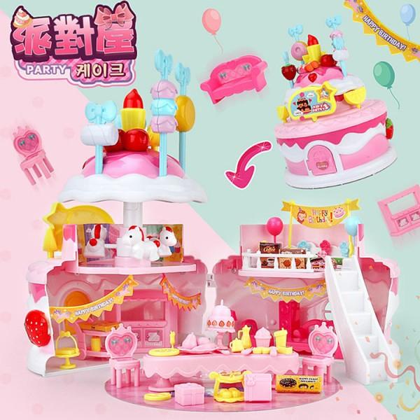 斯米蘭娃娃蛋糕娃娃屋家家酒(510C)