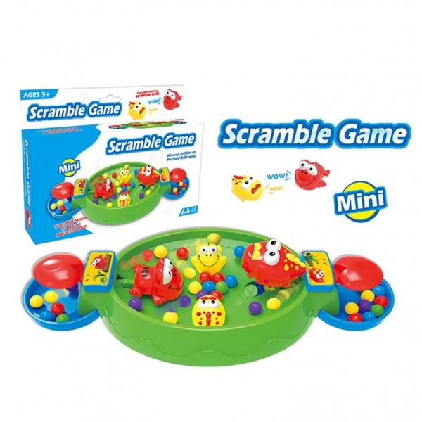 青蛙大戰鱷魚搶珠盤桌上遊戲(小盒外出版)(2人桌遊)