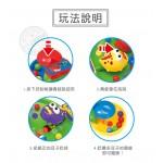 青蛙大戰鱷魚搶珠盤桌上遊戲(小盒外出版)(2-4人桌遊)