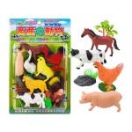 12入農村動物模型組(小隻)(ST503)(安全漆)