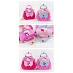 粉紅兔珍珠時尚包(可手提可側背)家家酒(授權)