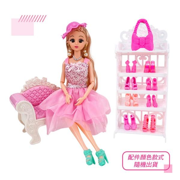 Beianli 我的華麗衣帽間娃娃組(手腳關節可動)(056)