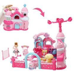 斯米蘭娃娃淘氣城堡娃娃屋家家酒(518C) (無法超商取貨)