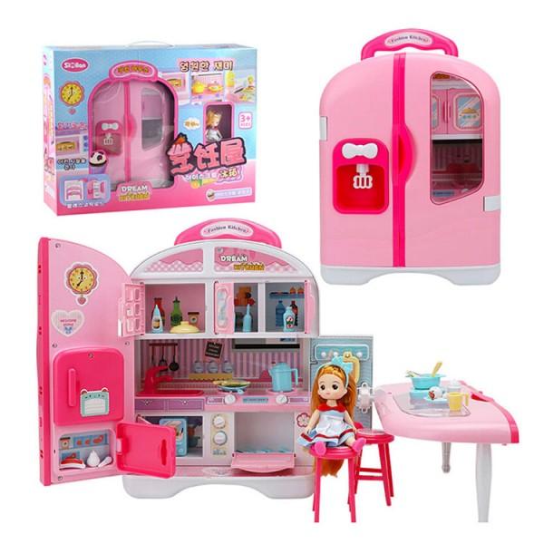 斯米蘭娃娃冰箱烹飪娃娃屋家家酒(508C) (無法超商取貨)