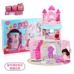 斯米蘭娃娃圓形城堡娃娃屋家家酒(501C) (無法超商取貨)