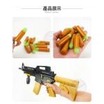 兒童仿真M16步槍(仿真軟子彈+彈匣)(64826) (無法超商取貨)