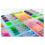 Penrote36色可水洗彩色筆(粗桿)(手提藍盒)