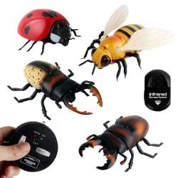 紅外線遙控仿真野外昆蟲(蜜蜂/瓢蟲/甲蟲)(授權)